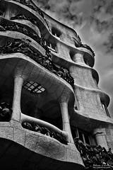 La Pedrera (Casa Mil) (Adam Currey) Tags: casamil lapedrera barcelona gaudi