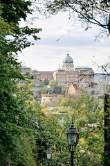 framed by green (marin.tomic) Tags: budapest hungary ungarn city urban hill green frame nature travel nikon d90 europe holiday vacation castle