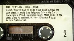 Made in England - Explored (SKAC32) Tags: macromondays beatlesbeetles thebeatles cassettetape magnetictape canon100mmf28macro 196266