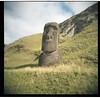 rano raraku (climber x) Tags: easter island rapa nui moai rano raraku film holga 120 medium format kodak portra 400