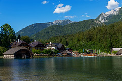 DSC_4464 (svetlana.koshchy) Tags: germany berchtesgadener land berchtesgaden landscape bavaria bayern alps alpen deutschland clouds reflection mountain königssee outdoor