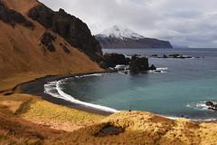Volcanic bay on Adak, Alaska (Paxson Woelber) Tags: adak adakisland alaska landscape nikon volcanicisland volcanic aleutians aleutianislands paxsonwoelber