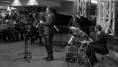 Simon Spillett Quartet. Jazzlines. 2nd Dec '16. Symphony Hall. P1590761 (Imagine Bill) Tags: simonspillettquartet jazzlines symphonyhallbirmingham symphonyhall davidferris simonspillett stuartbarker markhale