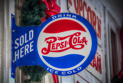 Sold Here---Drink Ice Cold Pepsi-Cola (donnieking1811) Tags: tennessee granville pepsicola pepsi sign signs redbows garland canon 60d tbsuttonstore