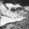 Kailash (2) (Yuriy Sanin) Tags: tibet kailash 6x6 mamiya6 blackandwhite bw mountains clouds snow stones ручей creek steam yuriy sanin 2013 юрийсанин горы горныйпейзаж кайлас снег камни чб чернобелаяфотография