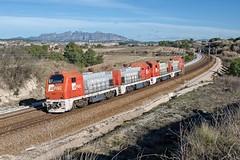 Locomotoras FGC 353.01-02-03-04 (Andreu Anguera) Tags: locomotorascargometro lavern subirats altpenedès barcelona catalunya andreuanguera
