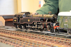 Angmering 80125 Gauge 1 (davids pix) Tags: 80125 riddles british railways standard tank steam locomotive gauge 1 angmering model railway exhibition 2016 05112016