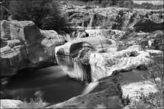 Fiume Alcantara (Les Cornwell Photos) Tags: river monochrome waterfall mono 10stopper italy sicily alcantara bw alcantarapark fiumealcantara parcofluvialedellalcantara
