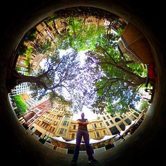 Inner city bubble  (LIFE in 360) Tags: lifein360 theta360 tinyplanet theta livingplanetapp tinyplanetbuff 360camera littleplanet stereographic rollworld tinyplanets tinyplanetspro photosphere 360panorama rollworldapp panorama360 ricohtheta360 smallplanet spherical thetas 360cam ricohthetas ricohtheta virtualreality 360photography tinyplanetfx 360photo 360video 360