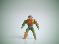 Man At-Arms Master of the Universe (zeploctoys) Tags: manatarms motu masterofuniverse toy toys juguete juguetes vintage retro 80s green figure figures actionfigures mattel eternia