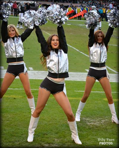 2016 Oakland Raiderette Abby