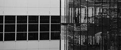 Serrire (photofank) Tags: reflection reflects reflet glass bw photofank windows industry