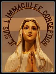 Je suis l'immacule conception (thierrymasson94) Tags: paris sculpture france jesuislimmaculeconception immaculeconception musedelhomme portrait vierge marie viergemarie catholicisme
