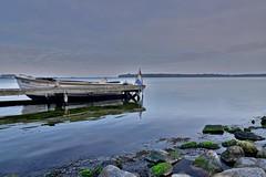 "A boat named ""Whale"" (Kai Beinert) Tags: veere northsea nordsee zeeland meer boat boot kste coast holland nikon landscape landschaft sea seaside steine stones felsen riff"