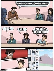 What is Rogue One? (Comic Con Culture) Tags: rogueoneastarwarsstory starwars rogueone astarwarsstory humor starwarshumor theforce prequel deathstar