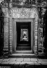Banteray Samre 60 (scramasacs) Tags: doors angkor ancient cambodia