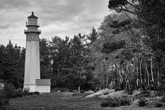 Lighthouse with Trees (jgottlieb) Tags: lighthouse trees forest wa washington westport grays harbor leica mp typ 240 75mm summicron