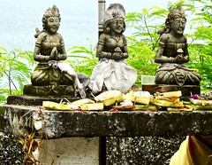 Offering place for Hindu people . (Franc Le Blanc .) Tags: panasonic lumix indonesia bali tanahlot hindu religion