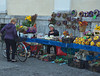 Flower seller, Ljubljana (nisudapi) Tags: 2016 europe slovenia ljubljana vendor seller florist flowers flowerseller stall market