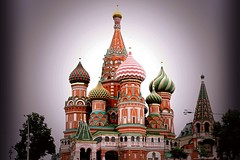 Onion Domes - Russia (DigiGrafer) Tags: copyrightbydigigrafer 2016 120216 architecture museum domes redsquare stbasilscathedral moscow