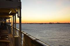 DSC_4933 (Vintage Alexandra) Tags: queen mary 2 ocean liner nyc new york city brooklyn red hook cunard cruise transatlantic sunset photogrpahy