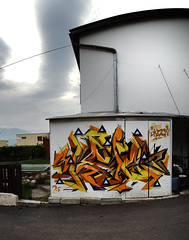 Backyard session in Innsbruck (Crazy Mister Sketch) Tags: crazy mister sketch spraycans spraypaint stylewriting streetart graffiti wall walls graffitiart artwork art austria innsbruck ibk crazymistersketch cans colors freestyle letters lettering spraycanart