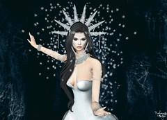 Snow Princess (Rehana MiSS SLVietnam, Face of CHOP ZUEY 2015) Tags: secondlife sl fashion rehana rehanaseljan newrelease poetsheart maitreya chopzuey nailedit slink phoenix slackgirl catwa posesion theavenue