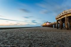 Blankenberge Pier, long exposure (pieterpb) Tags: blankenberge pier kust coast beach sunset belgium strand hdr longexposure travel tripod canon photography