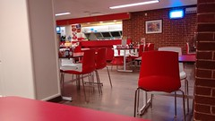 Little Chef Honiton dining and servery (Shandiness) Tags: littlechef honiton a30