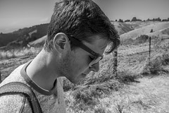 Last Day in California (Ben Jeffries) Tags: pondering skyline glasses breakfree digital canon canon7d thinking think zen camera california profile friend