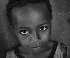 Wolayta Boy (Rod Waddington) Tags: africa african afrika afrique ethiopia ethiopian ethnic etiopia ethnicity ethiopie etiopian thiopien wollaita wolayta tribe traditional tribal culture portrait people indoor boy child blackandwhite