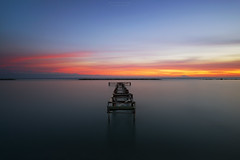 Forgotten (Alex Apostolopoulos) Tags: longexposure sunset clouds dock pier seascape photography sky seaside sony sonya6000 ilce6000 samyang12mmf20ncscs samyang cyprus haida ndfilter manfrottobefree
