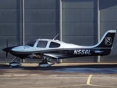 N556L Cirrus SR22 (Aircaft @ Gloucestershire Airport By James) Tags: gloucestershire airport n556l cirrus sr22 egbj james lloyds