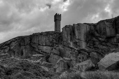 """LUND'S TOWER, EARL CRAG, SUTTON-IN-CRAVEN, YORKSHIRE, ENGLAND. (ZACERIN) Tags: """"lund's tower"""" """"earl crag"""" """"suttonincraven"""" """"yorkshire"""" """"england"""" """"queen victorias diamond jubilee"""" victoria"""" """"diamond """"airedale valley"""" """"sutton pinnacle"""" """"castellated """"tower"""" """"towers"""" """"monument """"zacerin"""" """"hdr"""" """"hdr pictures"""" """"pictures of lund's """"images """"ethel lund"""" james """"malsis hall"""" """"1897"""" """"2013"""" """"history """"christopher paul photography"""" """"waimans pinicle"""" """"cowling"""""""