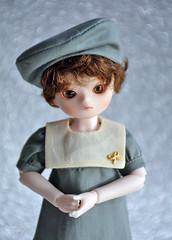 Blue Fairy Fei (Lorena Firefly) Tags: bluefairy bjd doll dollfie balljointeddoll boy bokeh dolks sagefei yosd cute korea luts little sailor