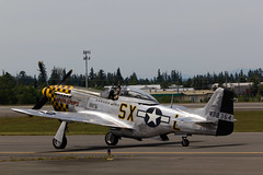 North American P-51D Mustang - 02 (notpsion) Tags: heritage field canon eos fly flying day free collection paine p51 550d t2i