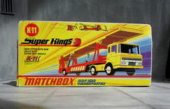 Matchbox Toys Super Kings DAF Car Transporter No. K11 1971 - 3 Of 10 (Kelvin64) Tags: car toys 1971 no super kings matchbox transporter daf k11