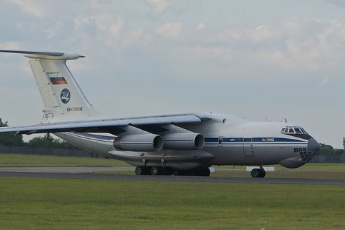 Russian Air Force, RA-78816, Ilyushin Il-76MD