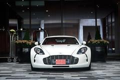 One-77 (Alex Penfold) Tags: park white london cars alex car four bahrain seasons martin super lane plates hyper mayfair supercar aston astonmartin supercars export penfold hypercar hypercars one77