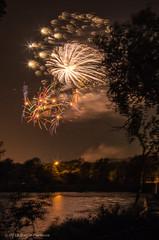 Braintree Fireworks 2013 (alohadave) Tags: sky night effects unitedstates fireworks massachusetts places northamerica 4thofjuly clearsky sunsetlake braintree universalhub smcpda1645mmf40edal pentaxk5