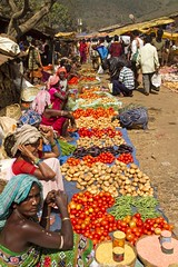 Kunduli market 1 (bag_lady) Tags: india market tribal trading selling bartering fruitvegetables adivasi kunduli kondhs earthasia sworissa