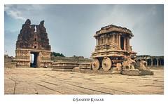 The stone chariot (R E B E L ™®) Tags: sculpture india heritage streetphotography diamond explore empire karnataka 2008 pampa hampi southindia ranna kannada 2013 krishnadevaraya vijayanagara sandeepmv 121clicks 08884922253