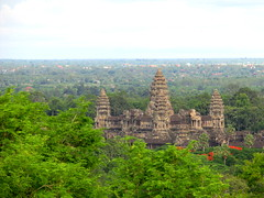 Angkor Wat, seen from Phnom Bakheng