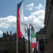 Victoria Square, Birmingham - European flags