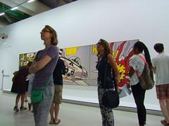 Pompidou Centre (Simon_K) Tags: paris france art roy modern ray postmodern centre pompidou parisian lichtenstein francais lichtenstien roylichtenstein parisien pariswander pariswanderblogspotcouk leictenstein