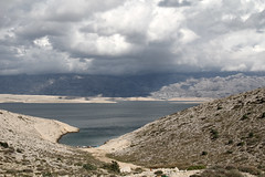 clouds on the velebit ridge  (cyberjani) Tags: sea landscape adriatic dalmatia velebit landscapesdreams