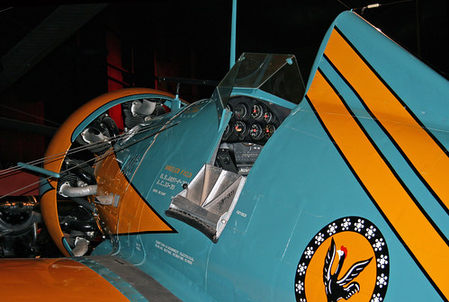 Boeing P-26A Peashooter (33-391 (Replica) (Cockpit)