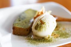20130904-07-Matcha green tea cake at Rin in Hobart.jpg (Roger T Wong) Tags: food cake lunch japanese restaurant cafe australia tasmania hobart matcha greentea rin sigma50mmf28exdgmacro sigma50macro canoneos6d
