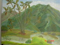 Oleo Lago en Parque del Este2 (alonsotegui) Tags: paisajes art painting arte venezuela lagos caracas oil imagenes avila cuadros oleos lienzos impresionismo pquedeleste