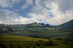 Cloudy Day in Tuscany (njk1951) Tags: italy panorama clouds landscape italia tuscany toscana valdorcia cloudsintuscany